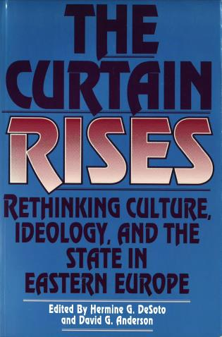 Cover image for the book The Curtain Rises