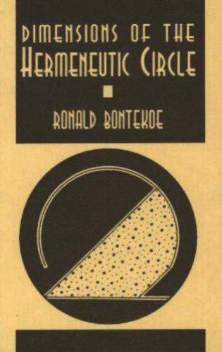 Cover image for the book Dimensions of the Hermeneutic Circle