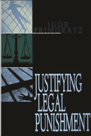 Cover image for the book Justifying Legal Punishment