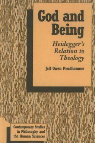 Cover image for the book God and Being: Heidegger's Relation to Theology