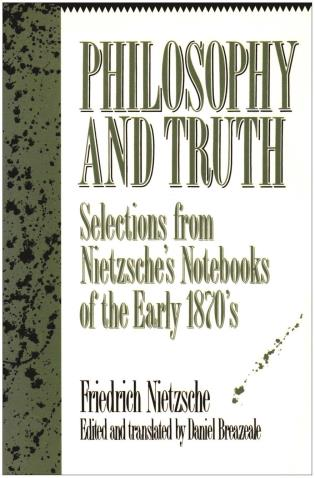 Cover image for the book Philosophy and Truth