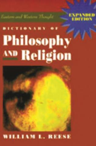 Cover image for the book Dictionary of Philosophy and Religion