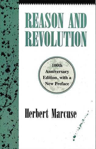 Cover image for the book Reason and Revolution: Hegel and the Rise of Social Theory