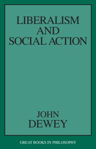 Cover image for the book Liberalism and Social Action