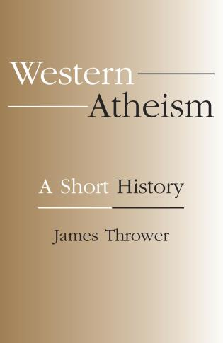 Cover image for the book Western Atheism: A Short History