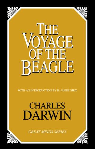 Cover image for the book The Voyage of the Beagle
