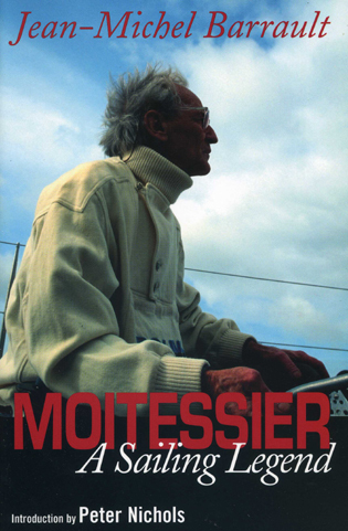 Cover image for the book Moitessier: A Sailing Legend