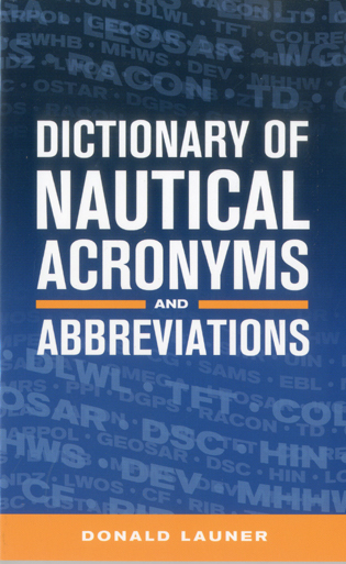 Cover image for the book Dictionary of Nautical Acronyms