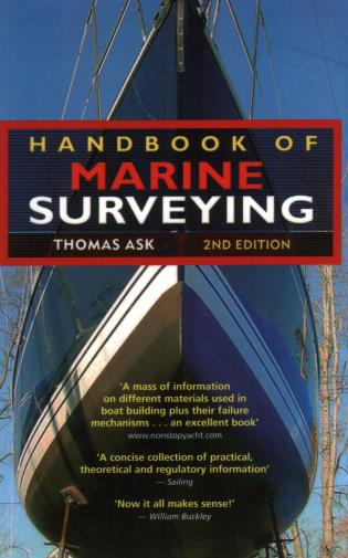 Cover image for the book Handbook of Marine Surveying