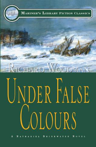 Cover image for the book Under False Colours: #10 A Nathaniel Drinkwater Novel