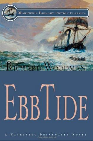 Cover image for the book Ebb Tide: #14 A Nathaniel Drinkwater Novel