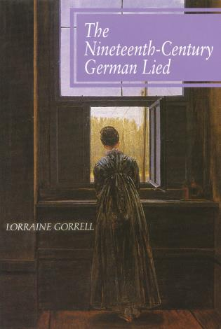 Cover image for the book The Nineteenth-Century German Lied