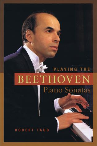 Cover image for the book Playing the Beethoven Piano Sonatas