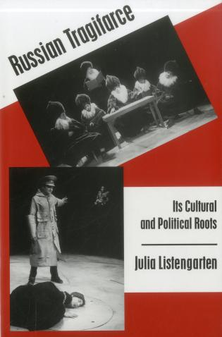Cover image for the book Russian Tragifarce: Its Cultural and Political Roots