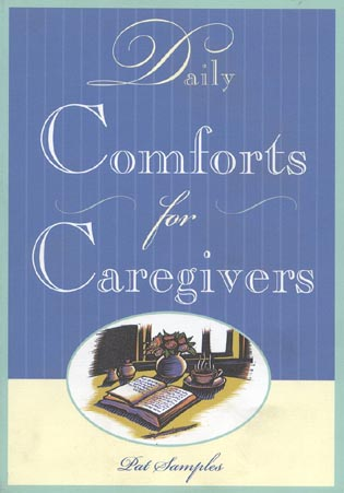 Cover image for the book Daily Comforts for Caregivers