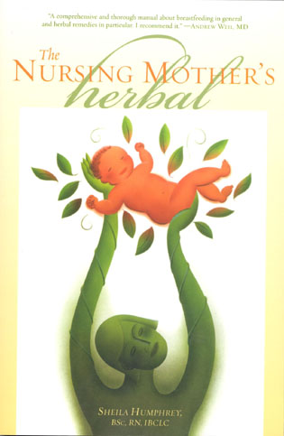 Cover image for the book The Nursing Mother's Herbal