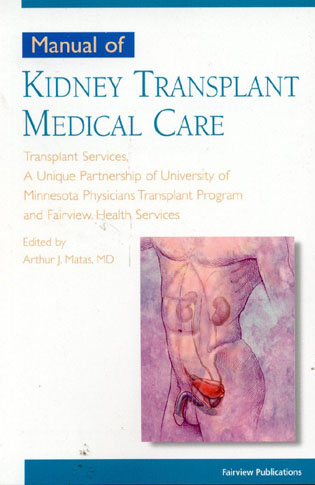 Cover image for the book Manual of Kidney Transplant Medical Care