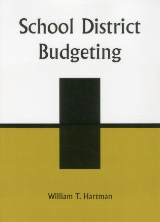 Cover image for the book School District Budgeting, Second Edition