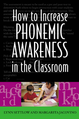 Cover image for the book How to Increase Phonemic Awareness In the Classroom