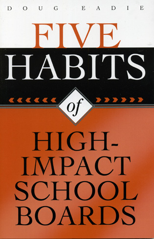 Cover image for the book Five Habits of High-Impact School Boards