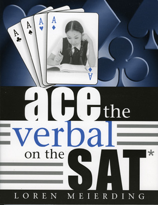 Cover image for the book Ace the Verbal on the SAT