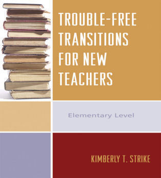 Cover image for the book Trouble-Free Transitions for New Teachers: Middle School and High School Levels