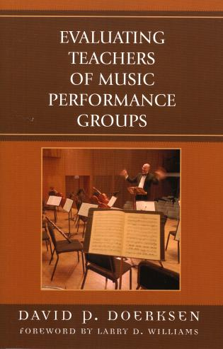 Cover image for the book Evaluating Teachers of Music Performance Groups, Revised Edition