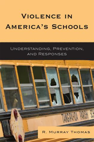 Cover image for the book Violence in America's Schools: Understanding, Prevention, and Responses