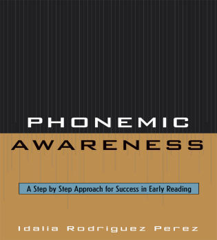 Cover image for the book Phonemic Awareness: A Step by Step Approach for Success in Early Reading