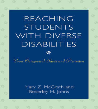 Cover image for the book Reaching Students with Diverse Disabilities: Cross-Categorical Ideas and Activities