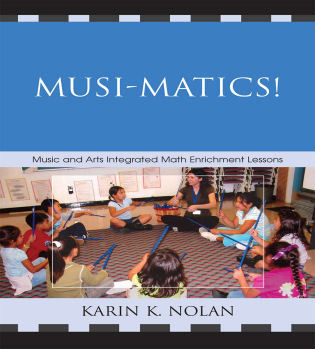 Cover image for the book Musi-matics!: Music and Arts Integrated Math Enrichment Lessons