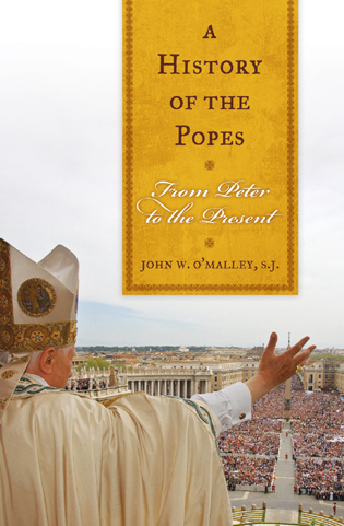 Cover image for the book A History of the Popes: From Peter to the Present