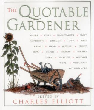 Cover image for the book Quotable Gardener, First Edition