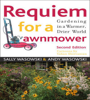Cover image for the book Requiem for a Lawnmower: Gardening in a Warmer, Drier, World, Revised Edition