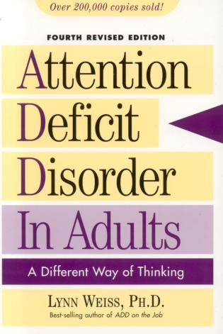 4th adult attention deficit different disorder edition in thinking way images 571