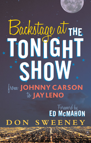 Cover image for the book Backstage at the Tonight Show: From Johnny Carson to Jay Leno
