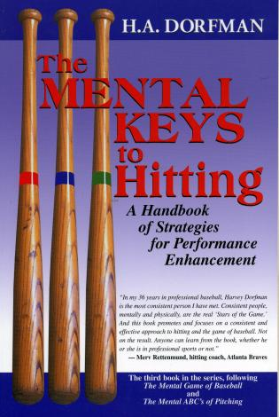 Cover image for the book The Mental Keys to Hitting: A Handbook of Strategies for Performance Enhancement