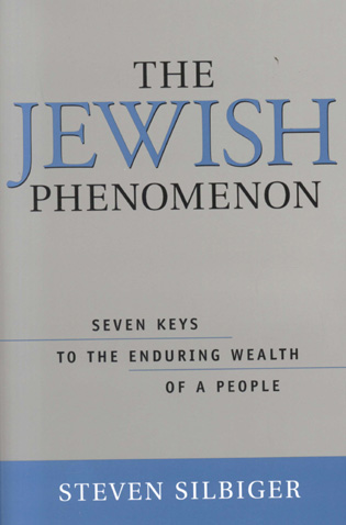 Cover image for the book The Jewish Phenomenon: Seven Keys to the Enduring Wealth of a People