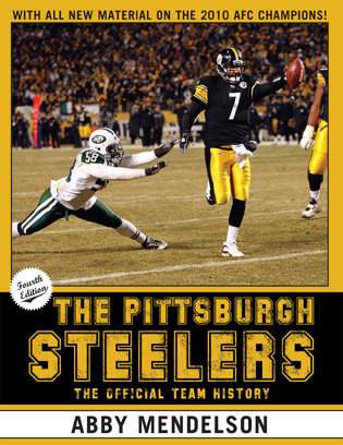 Cover image for the book The Pittsburgh Steelers: The Official Team History, Fourth Edition