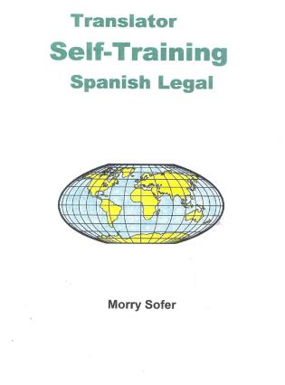 Cover image for the book Translator Self-Training--Spanish Legal