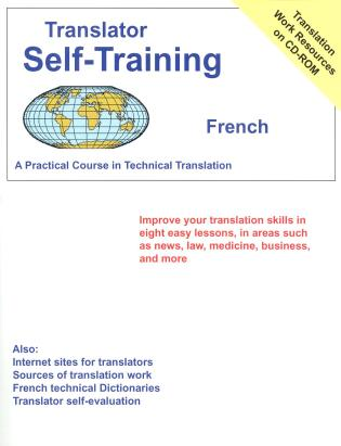 Cover image for the book Translator Self-Training--French: Practical Course in Technical Translation