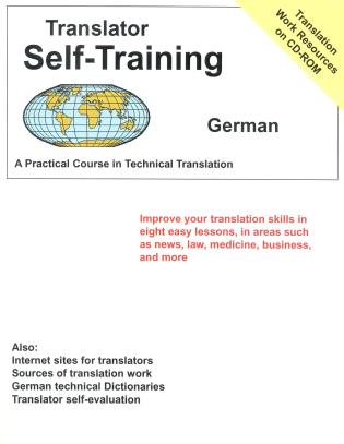 Cover image for the book Translator Self-Training--German: Practical Course in Technical Translation