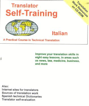 Cover image for the book Translator Self-Training--Italian: A Practical Course in Technical Translation