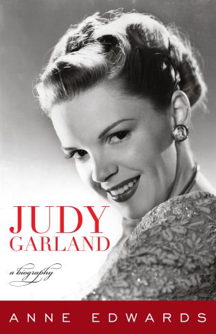 Cover image for the book Judy Garland: A Biography