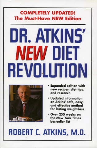 Cover image for the book Dr. Atkins' 4 Book Package