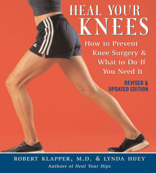 Cover image for the book Heal Your Knees: How to Prevent Knee Surgery and What to Do If You Need It