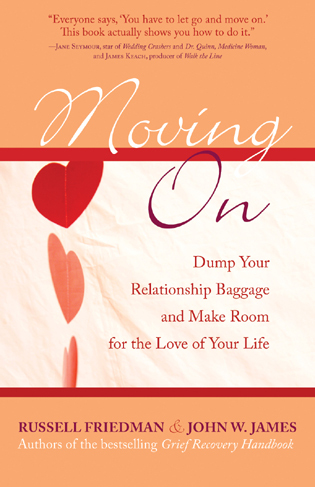 Cover image for the book Moving On: Dump Your Relationship Baggage and Make Room for the Love of Your Life