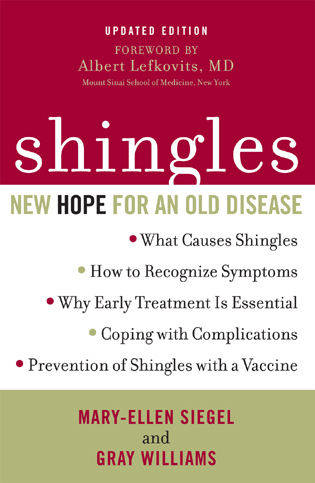 Cover image for the book Shingles: New Hope for an Old Disease, Updated Edition