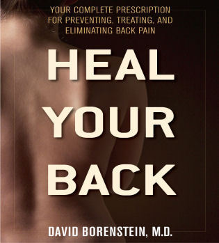 Cover image for the book Heal Your Back: Your Complete Prescription for Preventing, Treating, and Eliminating Back Pain