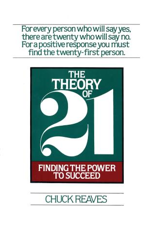 Cover image for the book The Theory of Twenty One